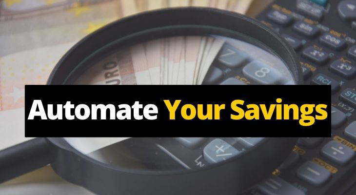 Automate Yoursavings - top ways to save money