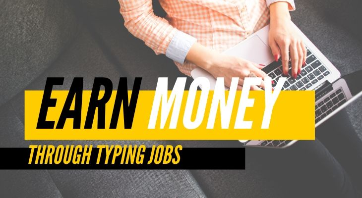 earn online money by typing