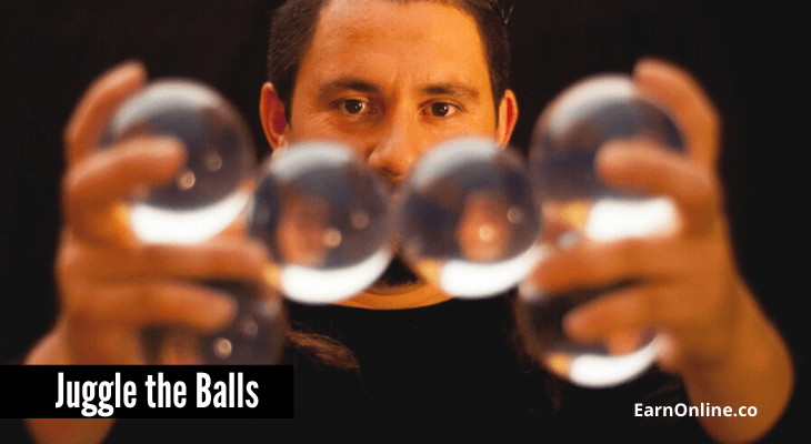 Juggle the Balls