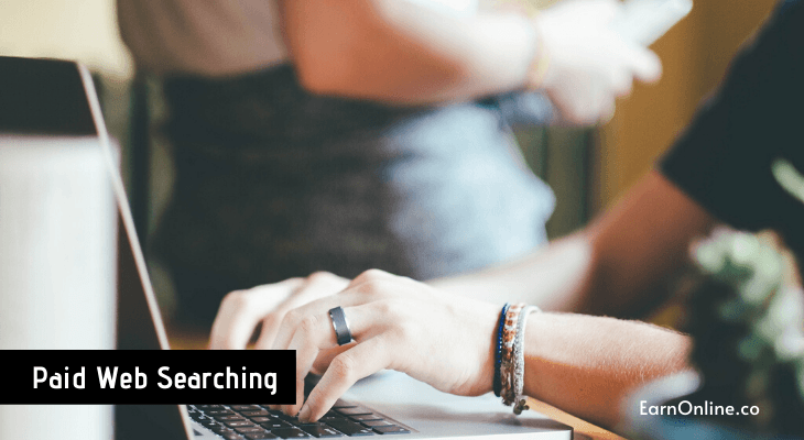 Paid Web Searching to earn online money