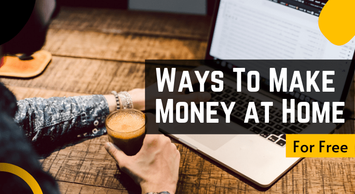 real ways to make money from home for free