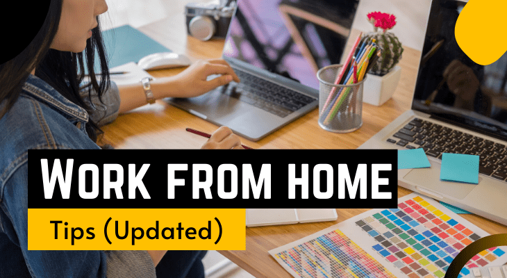corona work from home tips