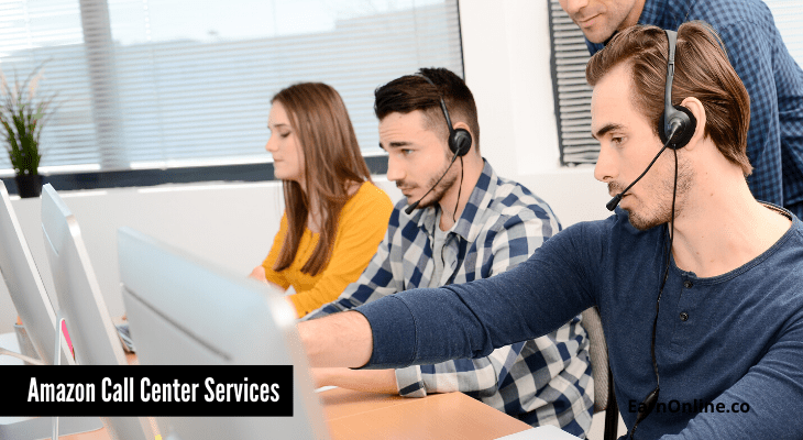 Amazon call-center services