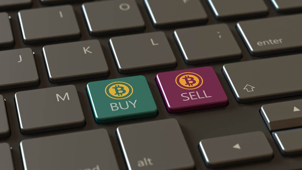 Cryptocurrency buy and sell