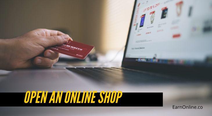 Open an Online Shop - Make Money As A Teenager