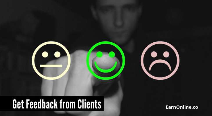 Get Feedback from Clients