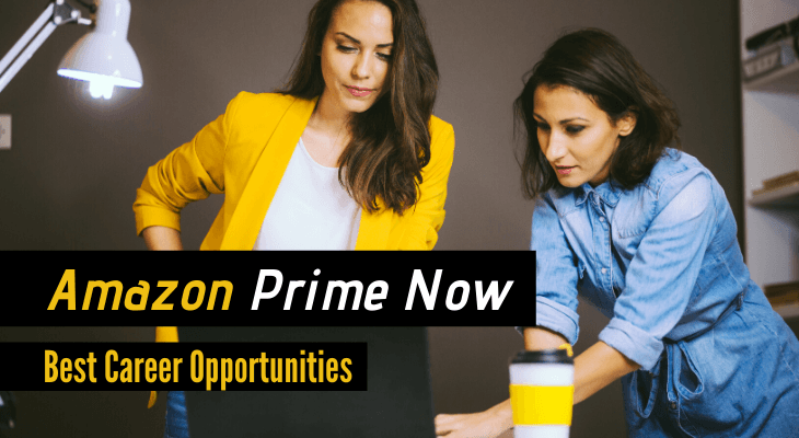 Amazon Prime Now Jobs