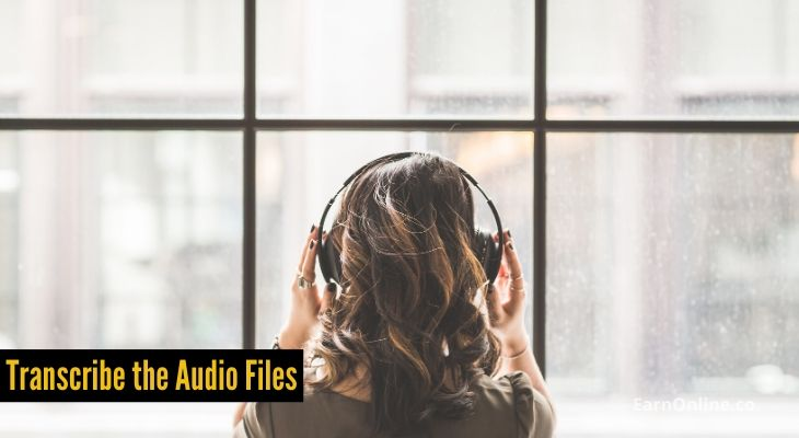 Transcribe the Audio Files