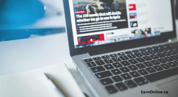 start a Blog - Earn Online