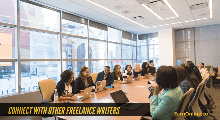 Connect With Other Freelance Writers